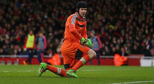 Petr Cech: Arsenal keeper injured calf