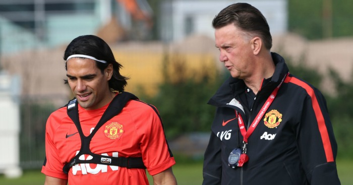 Radamel Falcao: Left bemused by LVG's instructions