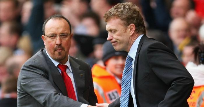 Rafael Benitez & David Moyes: Both linked to Newcastle job