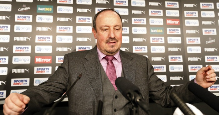 Rafael Benitez: Doesn't fear relegation with Newcastle United