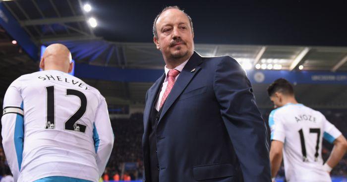 Rafael Benitez: Suffers defeat in first Newcastle game