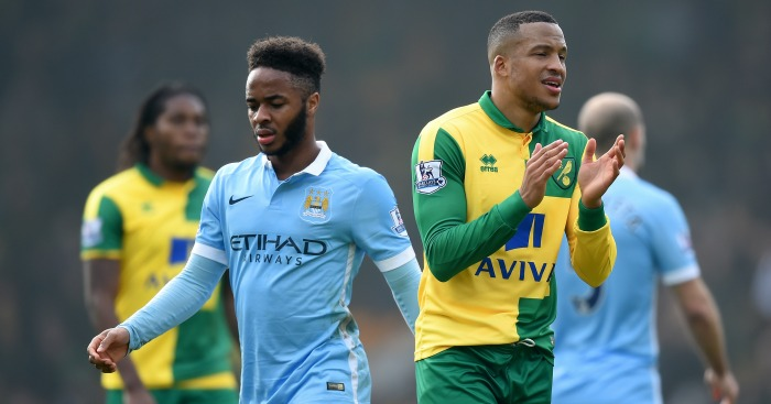 Raheem Sterling: Shows Manchester City's frustration at Norwich