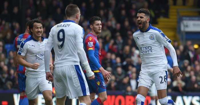 Riyad Mahrez: Scored the winner for Leicester
