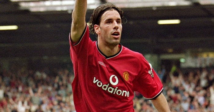 Ruud van Nistelrooy: Debut to remember in 2001