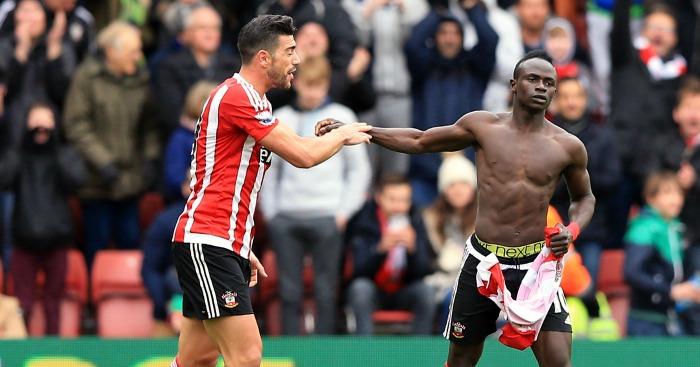 Sadio Mane Southampton celebration
