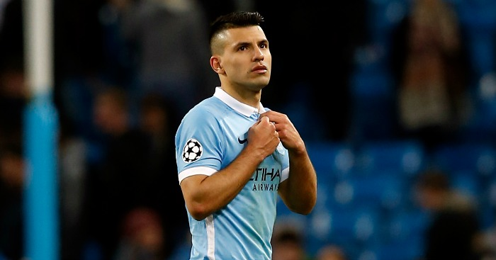 Sergio Aguero: Manchester City striker in good run of form