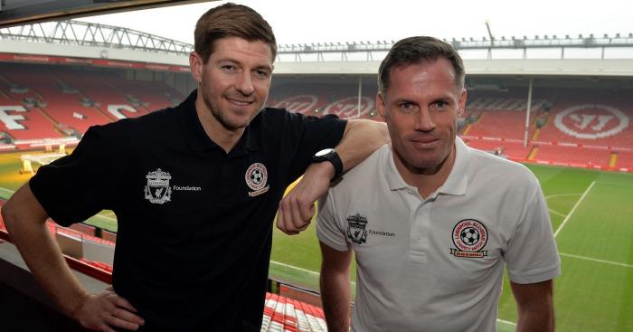 Steven Gerrard: Misses Jamie Carragher