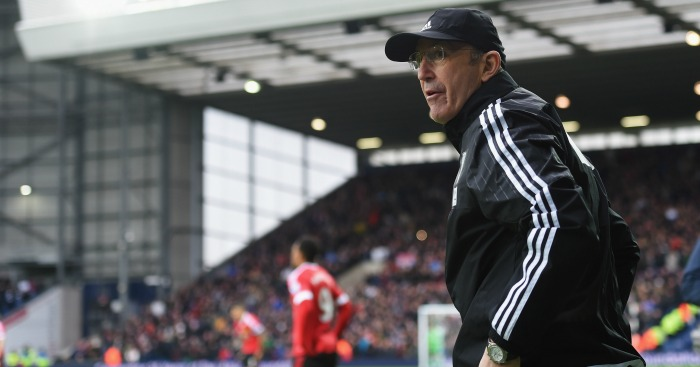 Tony Pulis: West Brom boss focused on reaching 40 points