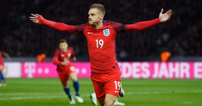 Jamie Vardy: England striker praised by Daley Blind