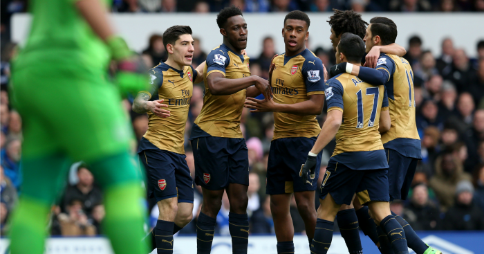 Danny Welbeck: Fired Arsenal ahead