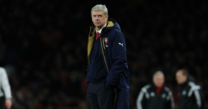 Arsene Wenger: Defended decision to substitute Campbell