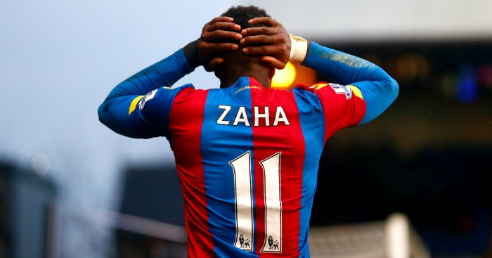 Wilfried Zaha: Will stay at Selhurst Park