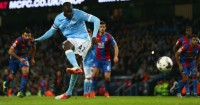 Yaya Toure: Nets from the spot for Man City