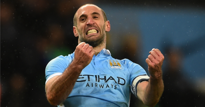 Pablo Zabaleta: Fully focused on Manchester derby