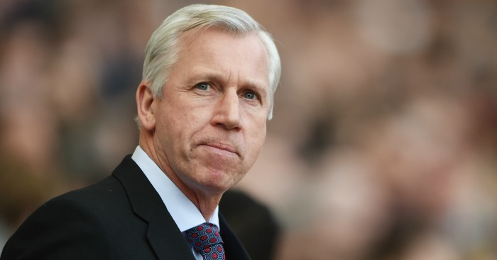 Alan Pardew: Delighted with his side's performance