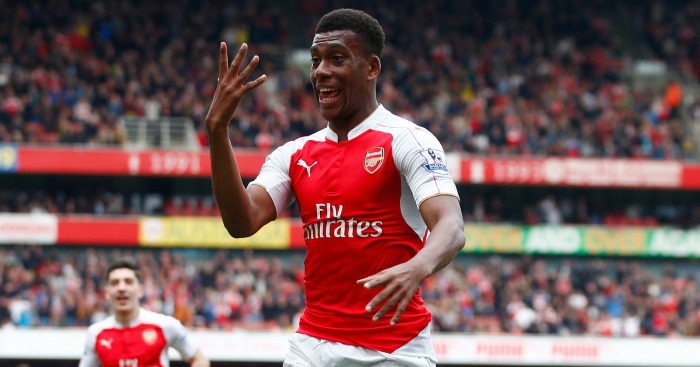 Alex Iwobi: In talks over new Arsenal contract