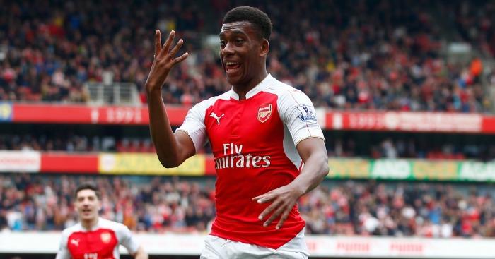 Alex Iwobi: Praised by Arsene Wenger after scoring in Arsenal's win over Watford