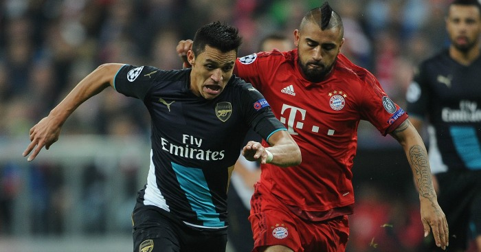 Alexis Sanchez: Urged to sign for Bayern by Arturo Vidal