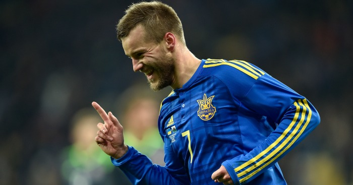 Andriy Yarmolenko: Linked with Merseyside switch
