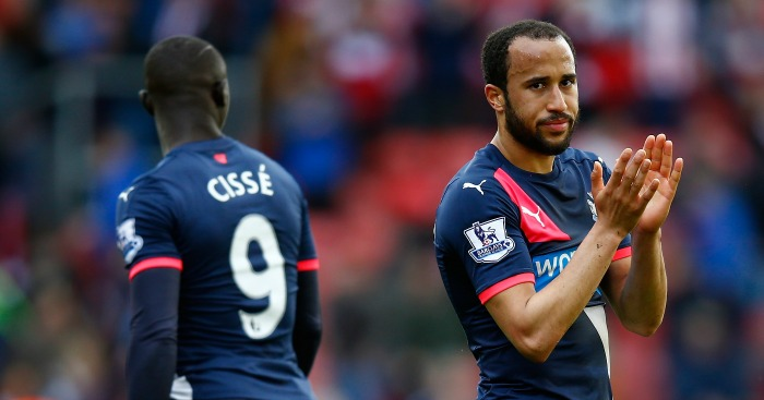 Andros Townsend: Scored Newcastle United's consolation at Southampton