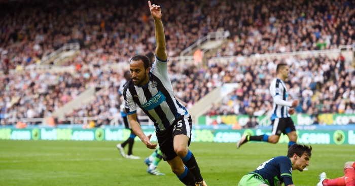 Andros Townsend: Winger scored third goal against Swansea