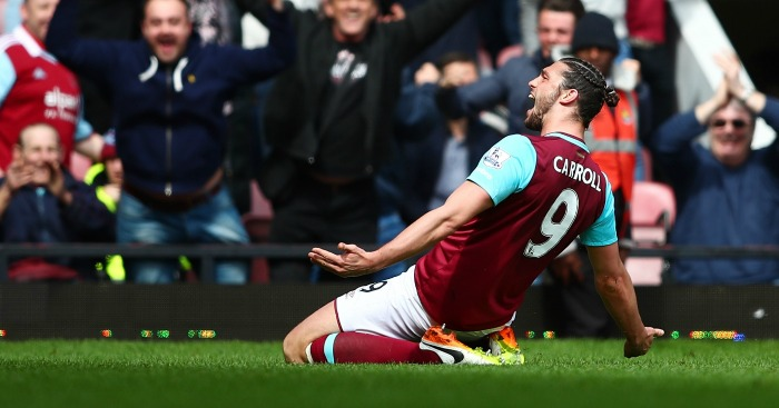 Andy Carroll: Maybe the best in the air with his head, says Slaven Bilic