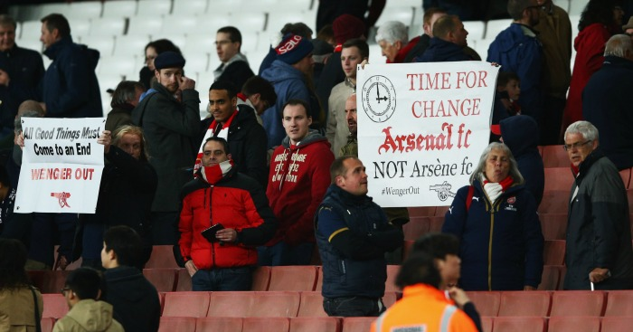 Arsene's time over?