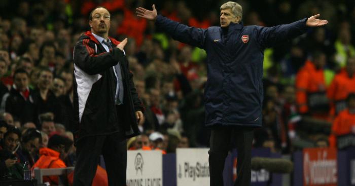 Arsene Wenger Benitez