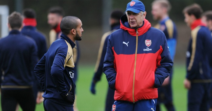 Theo Walcott: Set for showdown talks