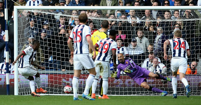 Saido Berahino: Had two penalties saved by Huerlho Gomez