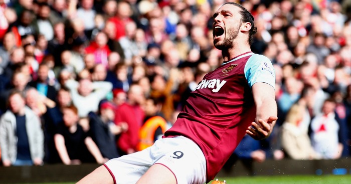 Andy Carroll: Scored a hat-trick against Arsenal
