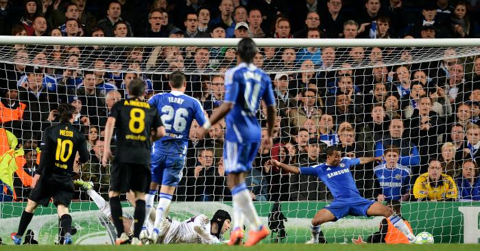 Chelsea v Barcelona 2012