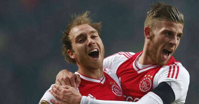 Christian Eriksen Toby Alderweireld Ajax