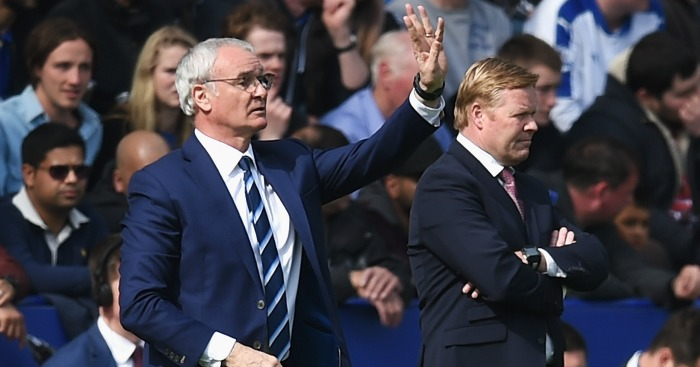 Claudio Ranieri: Oversaw crucial victory over Southampton