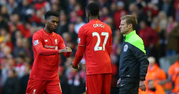 Divock Origi (r): Learning from Sturridge