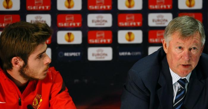 David de Gea: Goalkeeper signed by Ferguson in 2011
