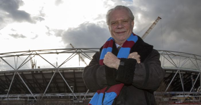 David Gold: Delighted to welcome top opposition