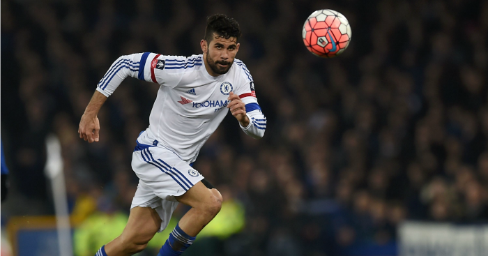 Diego Costa: Chelsea striker available for Manchester City game