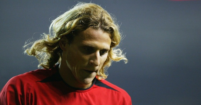 Diego Forlan: Backed Mourinho for United