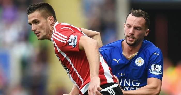 Dusan Tadic: Holds off Danny Drinkwater