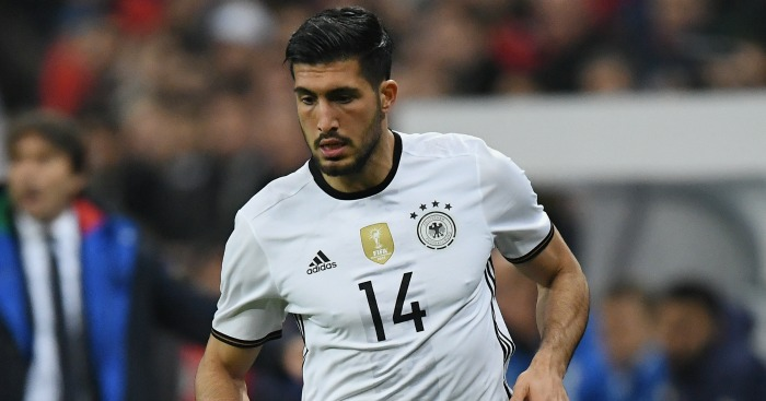 Emre Can: Included in Germany's squad