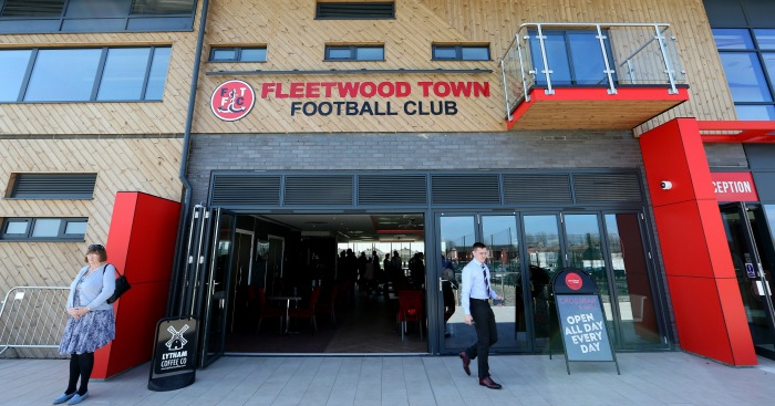 Fleetwood training ground