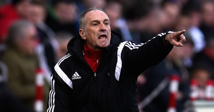 Francesco Guidolin: Says Swansea City are now safe in Premier League
