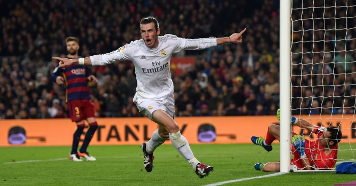 Gareth Bale disallowed goal Barcelona