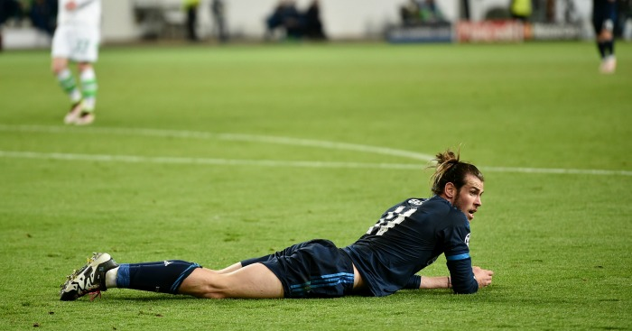 Gareth Bale: Felt he should have had penalty in Real Madrid's defeat