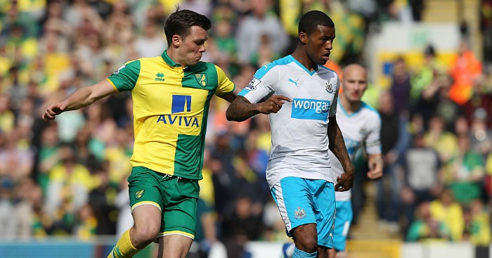 Jonny Howson: Missing for Norwich
