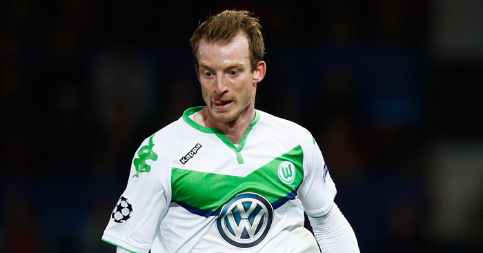 Max Arnold: Among scorers as Wolfsburg stun Real