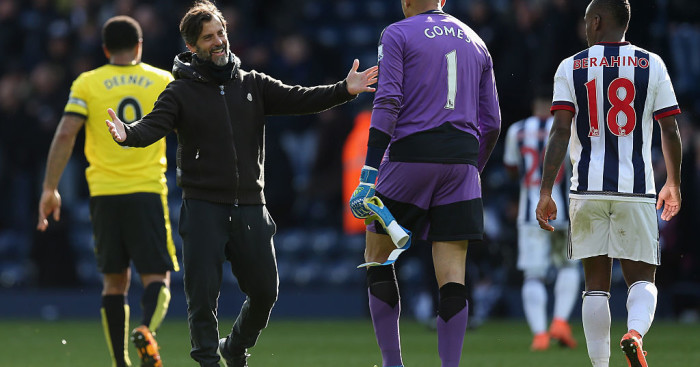 Quique Sanchez Flores: Gomez the main man at Watford