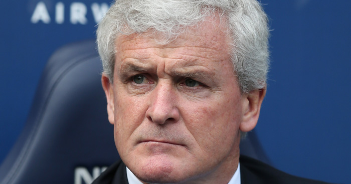 Mark Hughes: Fuming at Stoke's recent defending