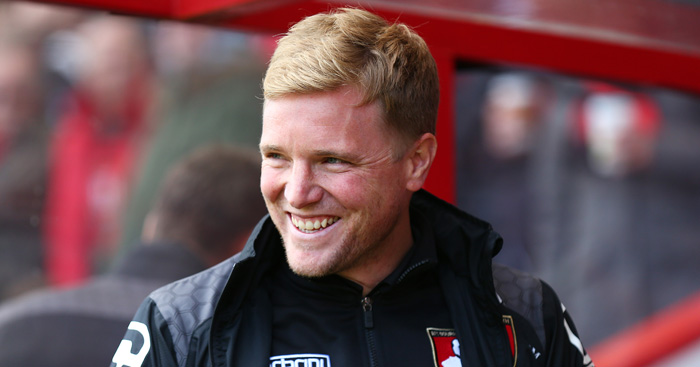 Eddie Howe: Reluctant to criticise Bournemouth